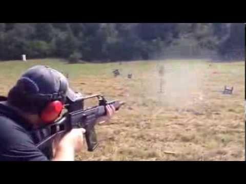 Shooting the G36