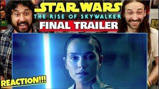 STAR WARS: THE RISE OF SKYWALKER | FINAL TRAILER - REACTION!!!