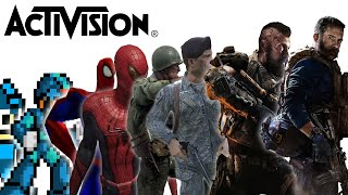 Evolution of Activision Games 1980 - 2020
