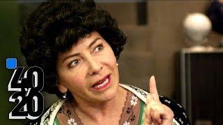 40 Y 20 | Doña Lucha llegó al departamento de Paco para reemplazar a Toña