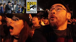 SDCC 2019 - SATURDAY VLOG - Hall H, Marvel Panel Reactions, Picard Trailer Review, Schmoedown Live