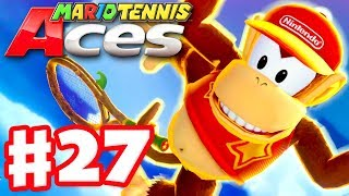 Mario Tennis Aces - Gameplay Walkthrough Part 27 - Diddy Kong! Online Tournament! (Nintendo Switch)