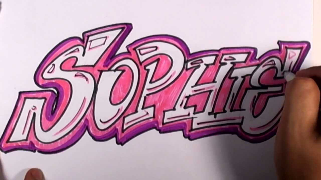 Graffiti Writing Sophie Name Design 23 In 50 Names