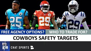 Dallas Cowboys Top Safety Targets To Trade For Or Sign Ft. Eric Reid, Malik Hooker & Eric Berry