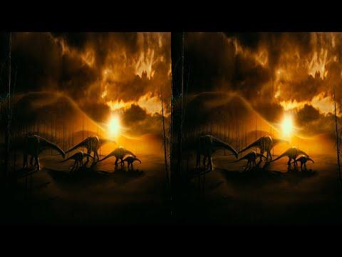 Динозавры: Гиганты Патагонии 3D FullHD (Горизонтальная анаморфная стереопара)