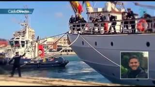 Un homenaje al marinero fallecido en Elcano