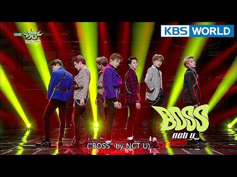 NCT U - BOSS [Music Bank COMEBACK / 2018.02.23]