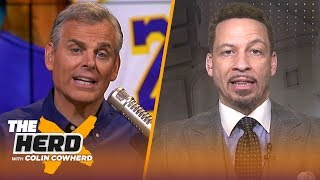 Chris Broussard discusses AD's future, if LeBron is truly the leader of the Lakers | NBA | THE HERD