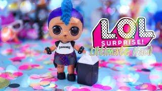 Unbox Daily:  LOL SURPRISE WAVE 2 Ultimate Haul!! Lil Punk Boi | Dawn | Pets & More
