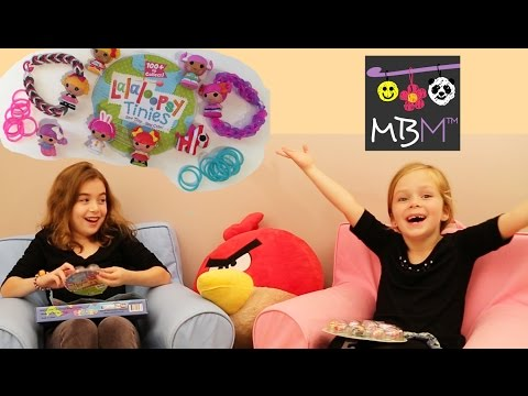 Lalaloopsy Tinies - Surprise Box Opening | How to Make a Lalaloopsy Loom Band Bracelet