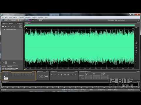 Reduccion de ruido avanzada con Adobe Audition 3