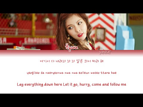 HyunA (현아) – How's This? (어때?) (Color Coded Han Rom Eng Lyrics)   by Yankat