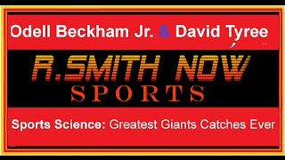 Odell Beckham Jr. David Tyree Sports Science Breaks Down two of the Greatest Catches in NFL History