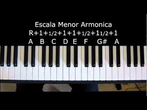 Escalas menores- tutorial-Curso de musica Gratis