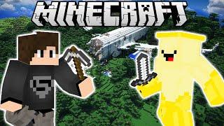 Cùng chơi Minecraft Jabinson 2 Map Của Jaki Natsumi - Tập 1: NOCHIM AIRLINE (w/ GBGamez)