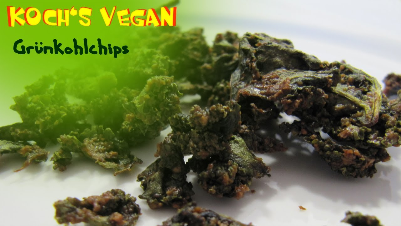 vegane gr nkohlchips gr nkohl chips gr nkohl rezept zubereiten vegane rezepte von koch 39 s. Black Bedroom Furniture Sets. Home Design Ideas