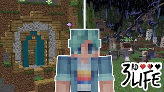 I've NEVER done a series like THIS before! - Minecraft 3rd Life SMP - Ep.1