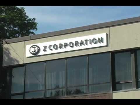 Z Corporation 3-D Printers