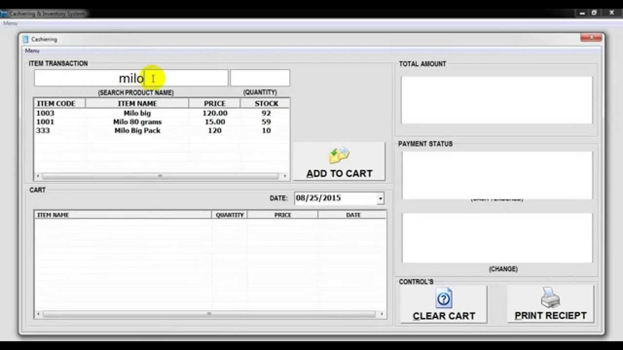 How To Create Inventory System In Visual Basic
