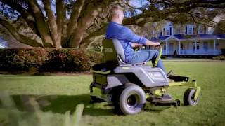 "Video: 75 AH 42"" Zero Turn Electric Riding Mower"