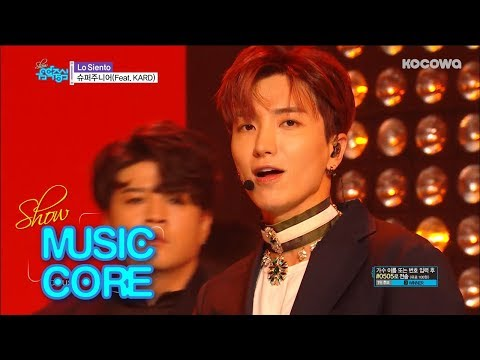 Super Junior - La Siento (Feat.Kard)  [Show Music Core Ep 584]