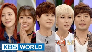 Hello Counselor - Kyuhyun, Stephanie, Muzie & PURFLES (2015.11.09)