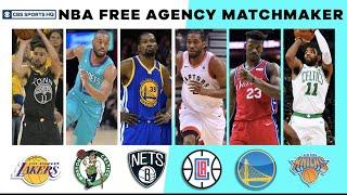 NBA Free Agency Matchmaker   2019 NBA Free Agency   CBS Sports HQ