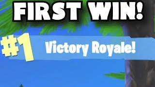 FIRST WIN! Fortnite Mobile Funny Moments | Fortnite Battle Royale Mobile iOS Gameplay Strategy