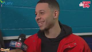 Stephen Curry & Seth Curry Interview   February 16, 2019 All Star Saturday Night