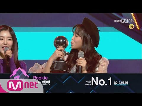 Top in 2nd of February, 'Red Velvet' with 'Rookie', Encore Stage! (in Full) M COUNTDOWN 170209 EP.51
