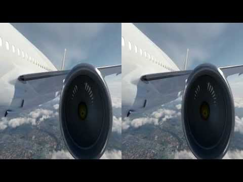 3D (stereoscopic) Animation of 787 VIP - Dreamliner - Timeless to Visionary