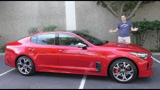 Here's Why the 2018 Kia Stinger GT Is Worth $50,000