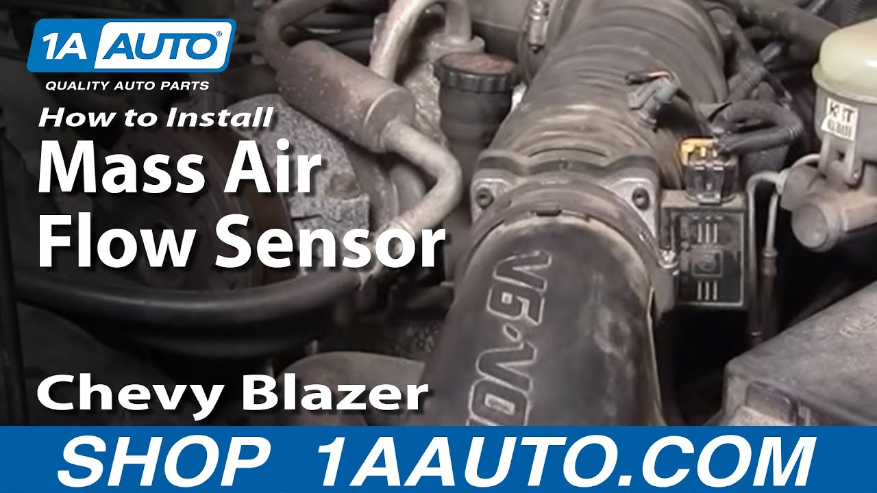 98 chevy s10 vacuum diagram chevy s10 wiring diagram vacuum hose how to install replace mass air flow sensor meter s10 #11