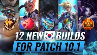 12 NEW BROKEN Korean Builds YOU SHOULD ABUSE in Patch 10.1 - League of Legends Season 10