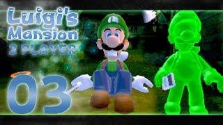 Luigi's Mansion 3DS - Part 3: WHERE IS MARIO?! (2 Player)