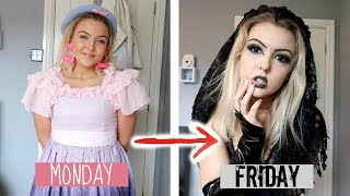 I Changed My Style Every Day For An ENTIRE Week! *embarrassing...*