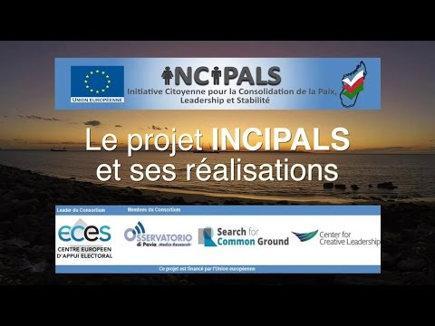 INCIPALS Madagascar project: its achievements (FR)