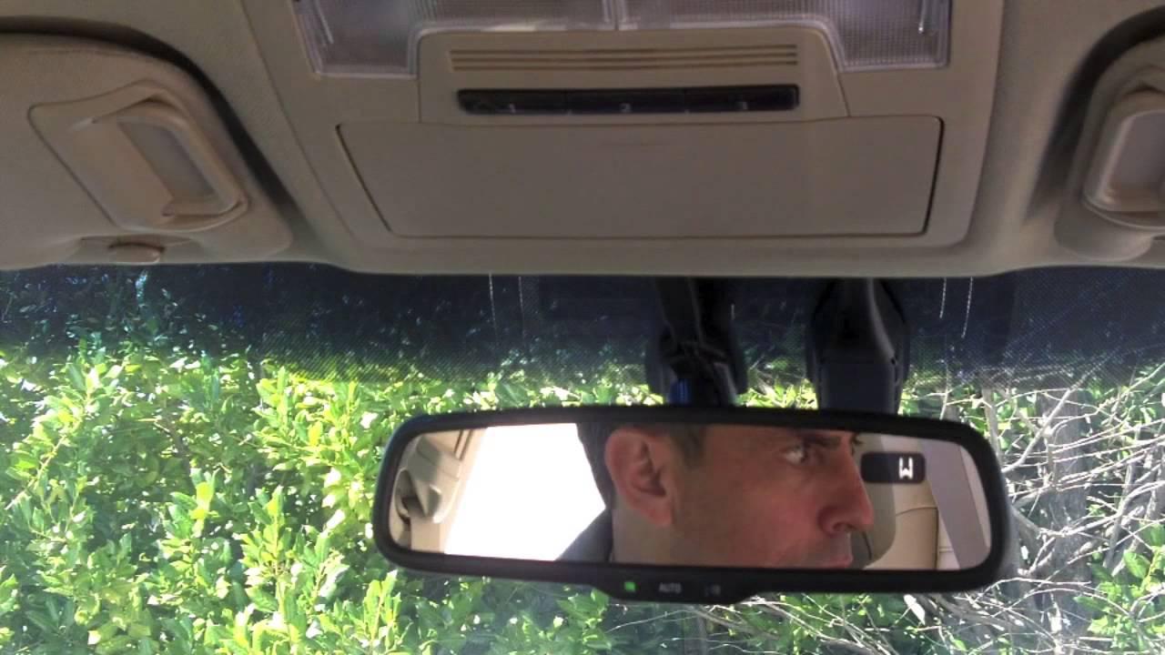 Program Car Garage Door Opener >> How To: Program Your Garage Door Opener on a Toyota - YouTube