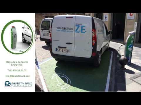 Puntos recarga Vehículos Eléctricos Alcoy