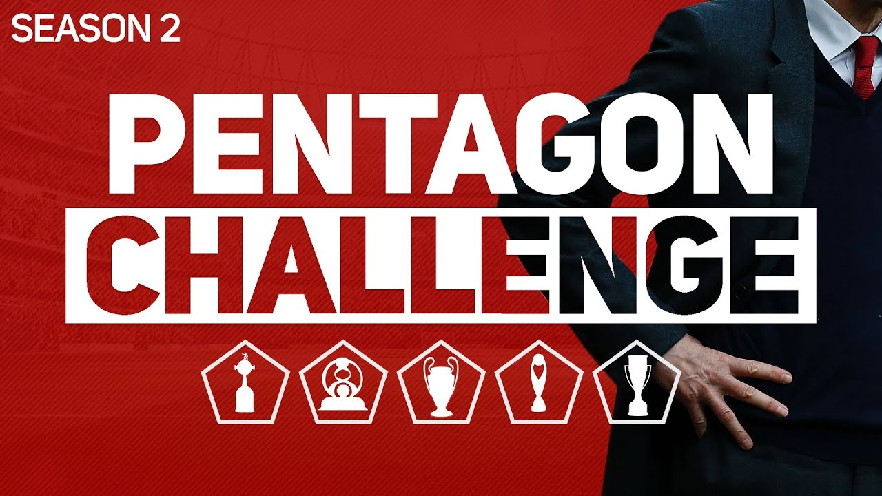PENTAGON CHALLENGE - FOOTBALL MANAGER 2020 #2