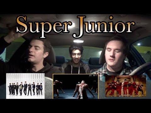 SUPER JUNIOR(슈퍼주니어) - Black Suit MV Reaction [also Mamacita & Mr. Simple Throwbacks]
