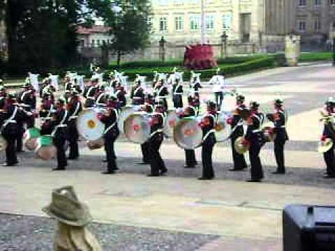 banda de guerra Guardia Presidencial (casa de nariño)