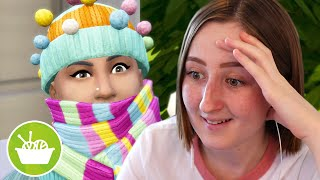I tried to get rich in The Sims just by knitting