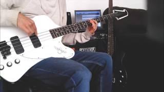 Blur - Coffee & TV (Bass Cover)