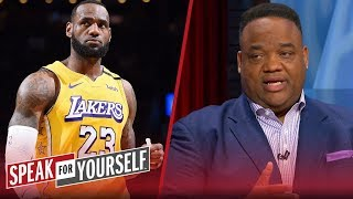 LeBron's desire to be victim is my problem with Lakers star — Whitlock | NBA | SPEAK FOR YOURSELF