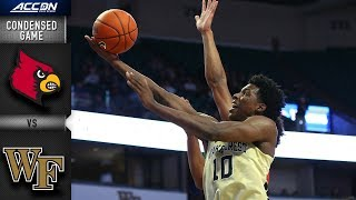 Louisville vs. Wake Forest Condensed Game | 2018-19 ACC Basketball