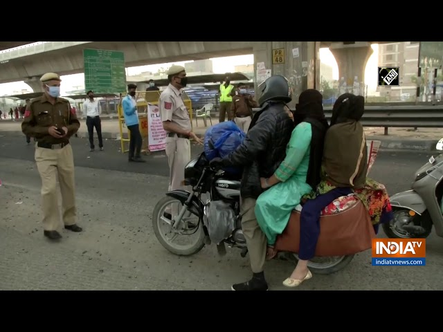 Coronavirus pandemic: Security tightened across India amid lockdown