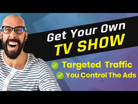 Exactly how To Get Your Own TV Show And Also Generate Revenue