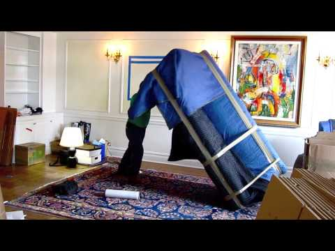 4 How To Pack Wrap A Sofa For Moving Youtube