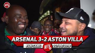 Arsenal 3-2 Aston Villa   Salute The Players & Salute Emery!! (Troopz)